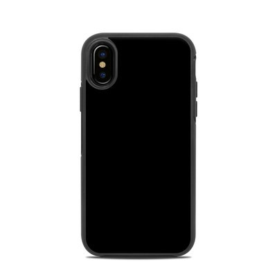 OtterBox Symmetry iPhone X Case Skin - Solid State Black