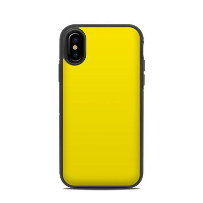 OtterBox Symmetry iPhone X Case Skin - Solid State Yellow