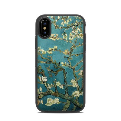 OtterBox Symmetry iPhone X Case Skin - Blossoming Almond Tree