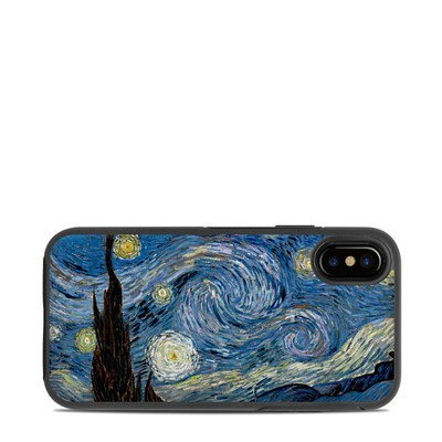 OtterBox Symmetry iPhone X Case Skin - Starry Night