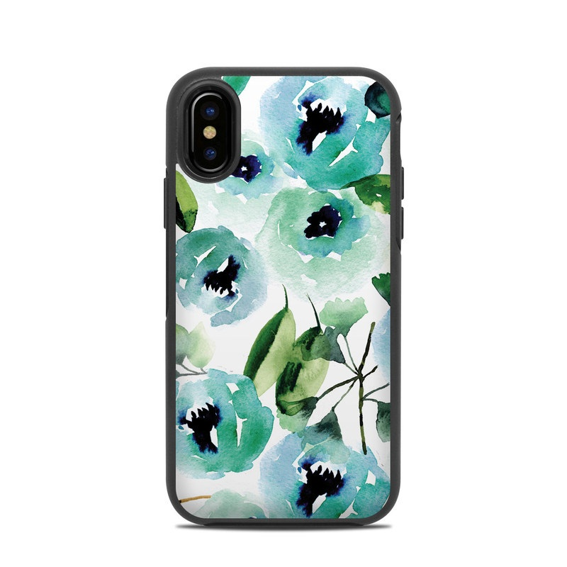 469f1bb7f0 OtterBox Symmetry iPhone X Case Skin - Peonies by Sara Berrenson ...