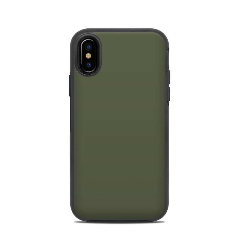 OtterBox Symmetry iPhone X Case Skin - Solid State Olive Drab by ... 7a6dc5f2b3ed