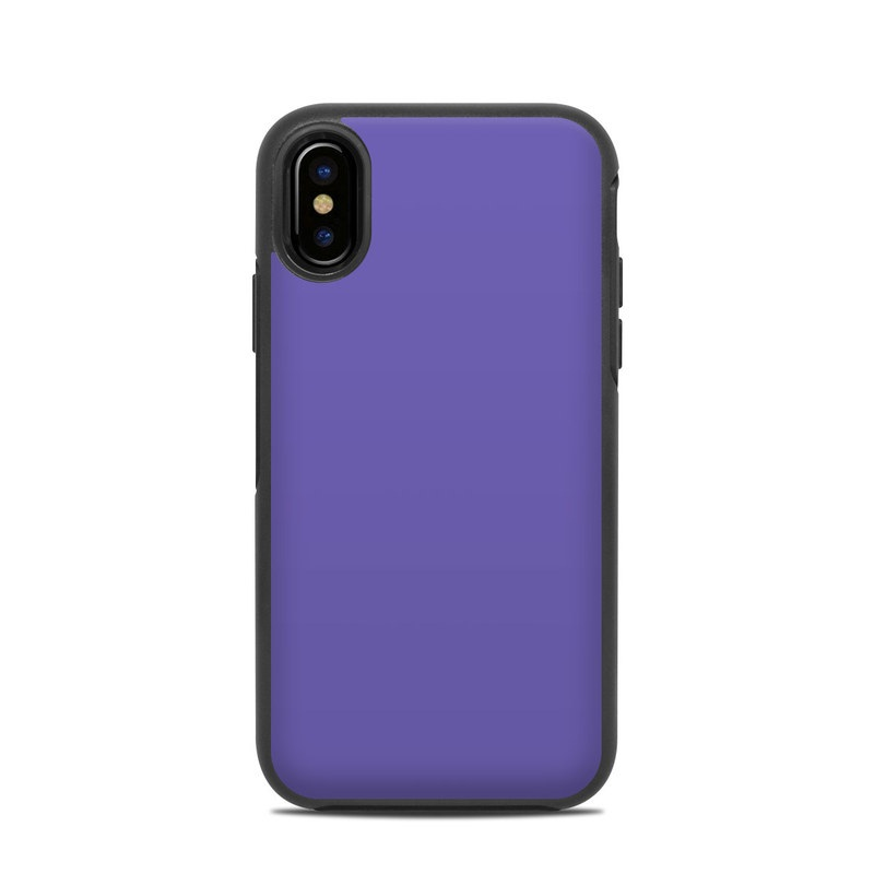new concept 68585 3468c OtterBox Symmetry iPhone X Case Skin - Solid State Purple