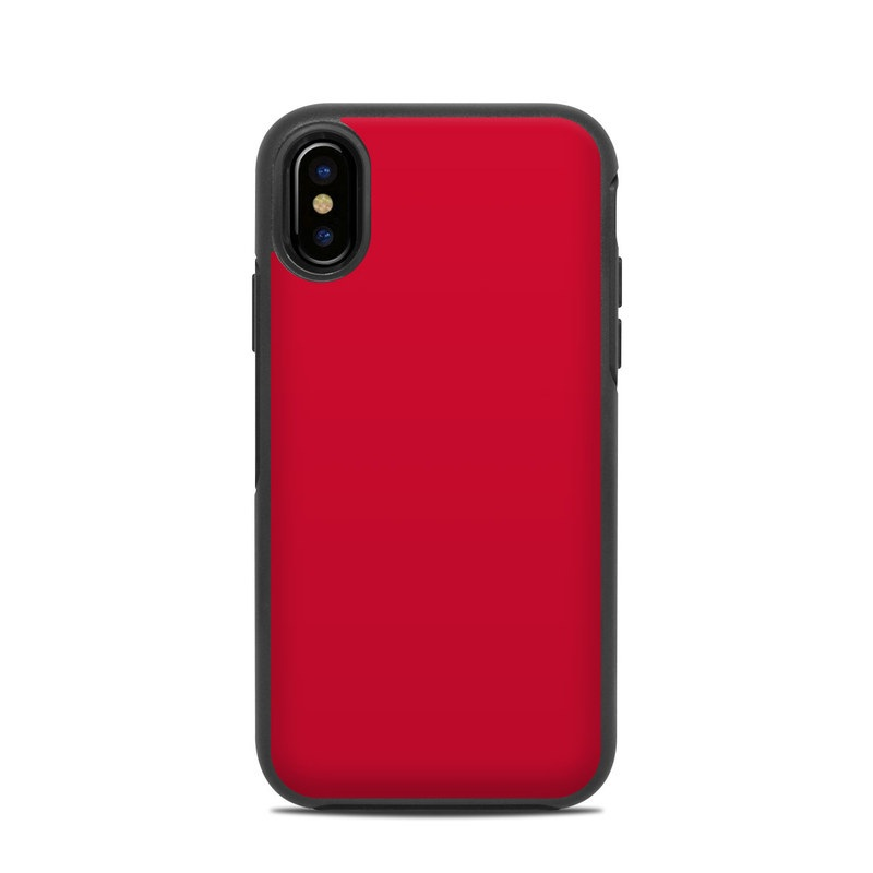 timeless design 0162b c5516 OtterBox Symmetry iPhone X Case Skin - Solid State Red