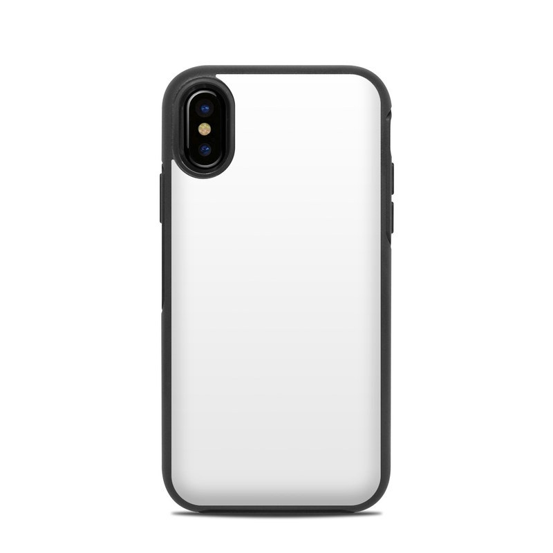 69884066ee OtterBox Symmetry iPhone X Case Skin - Solid State White by Solid ...