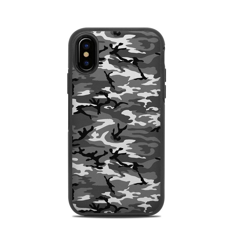 huge selection of d5cec ff5de OtterBox Symmetry iPhone X Case Skin - Urban Camo