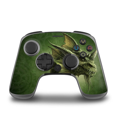 OUYA Controller Skin - Green Dragon