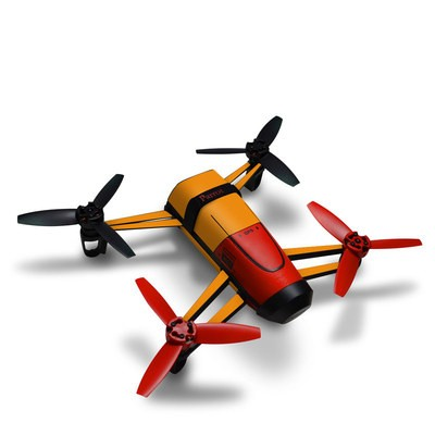 Parrot Bebop Skin - Solid State Orange