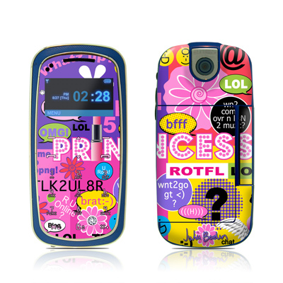 Pantech Impact Skin - Princess Text Me