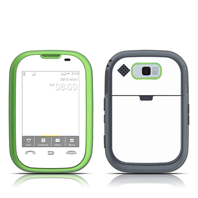Pantech Pursuit Skin - Solid State White