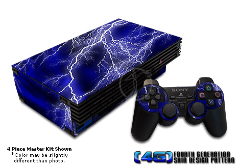 PS2 Skin - Apocalypse Blue