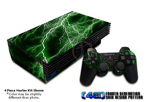 PS2 Skin - Apocalypse Green