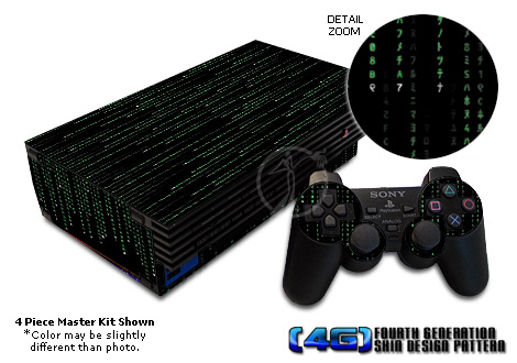 PS2 Skin - Matrix-Style Code