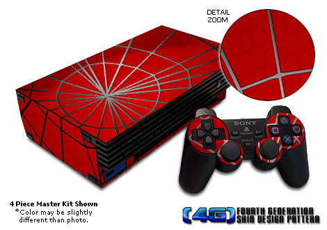 PS2 Skin - Webslinger
