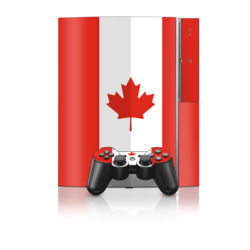 PS3 Skin - Canadian Flag