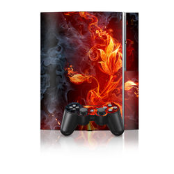 PS3 Skin - Flower Of Fire