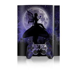 PS3 Skin - Moonlit Fairy