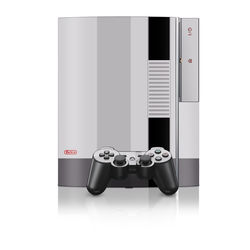 PS3 Skin - Retro Horizontal