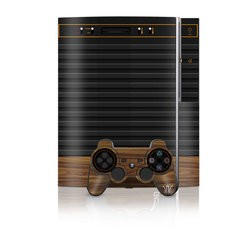 PS3 Skin - Wooden Gaming System