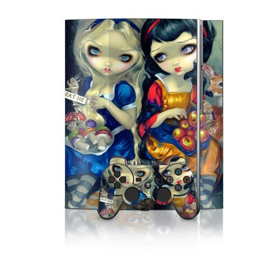 PS3 Skin - Alice & Snow White