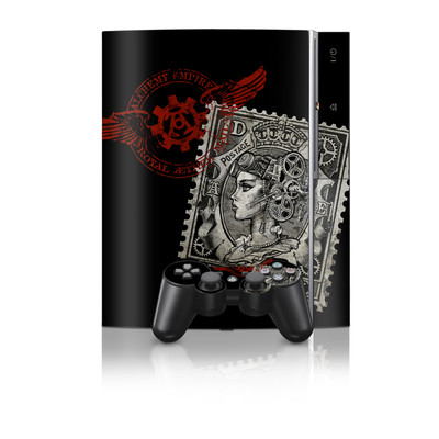 PS3 Skin - Black Penny