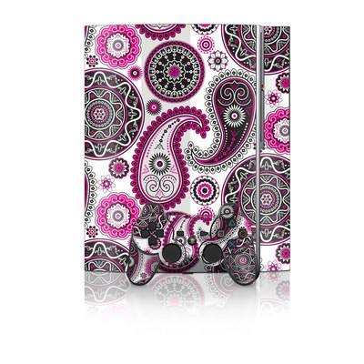 PS3 Skin - Boho Girl Paisley