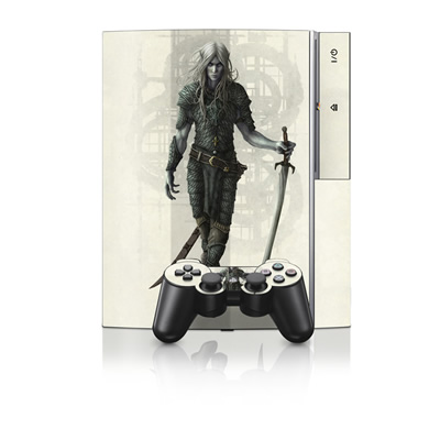 PS3 Skin - Dark Elf