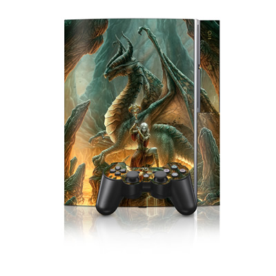 PS3 Skin - Dragon Mage