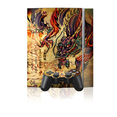 PS3 Skin - Dragon Legend