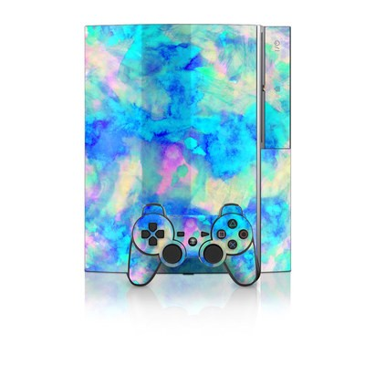PS3 Skin - Electrify Ice Blue