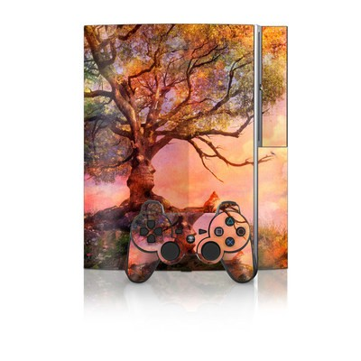 PS3 Skin - Fox Sunset
