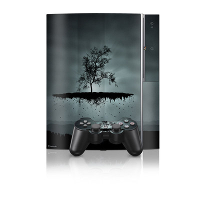 PS3 Skin - Flying Tree Black