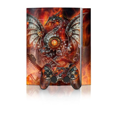 PS3 Skin - Furnace Dragon