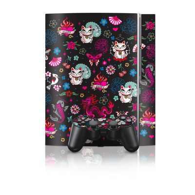 PS3 Skin - Geisha Kitty