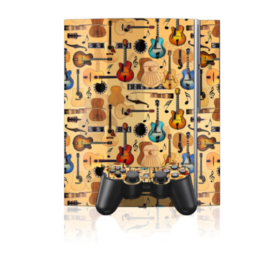 PS3 Skin - Guitar Collage