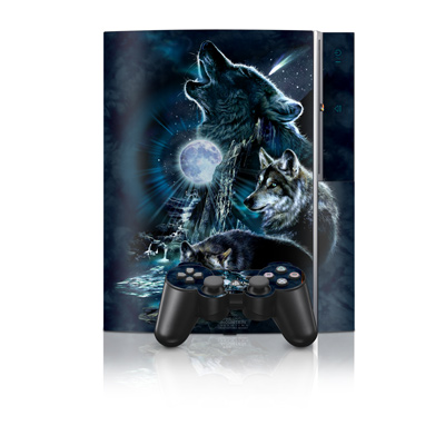 PS3 Skin - Howling