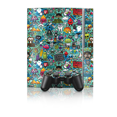 PS3 Skin - Jewel Thief