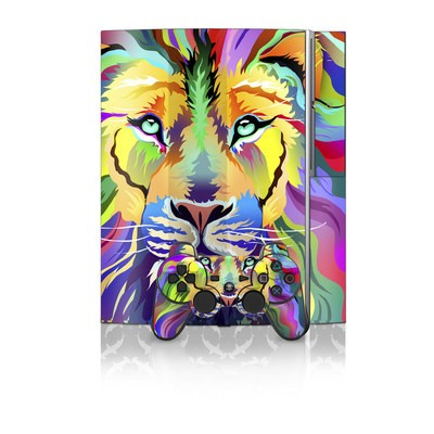 PS3 Skin - King of Technicolor