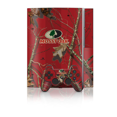 PS3 Skin - Break-Up Lifestyles Red Oak