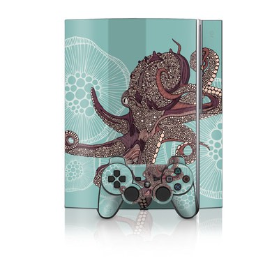 PS3 Skin - Octopus Bloom