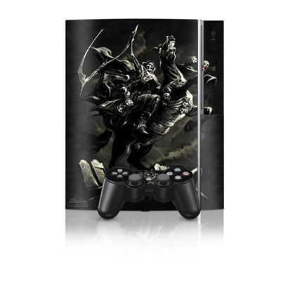PS3 Skin - Pale Horse