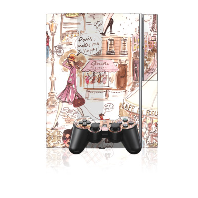 PS3 Skin - Paris Makes Me Happy