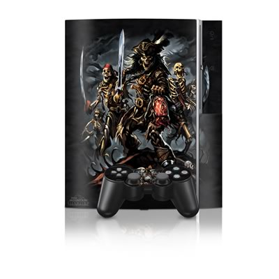 PS3 Skin - Pirates Curse