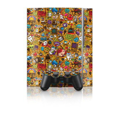 PS3 Skin - Psychedelic