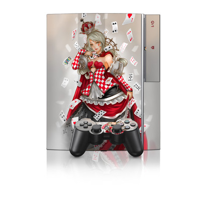 PS3 Skin - Queen Of Cards