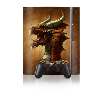 PS3 Skin - Red Dragon