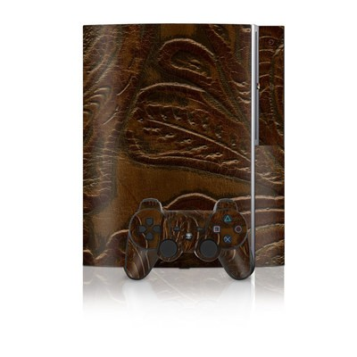 PS3 Skin - Saddle Leather