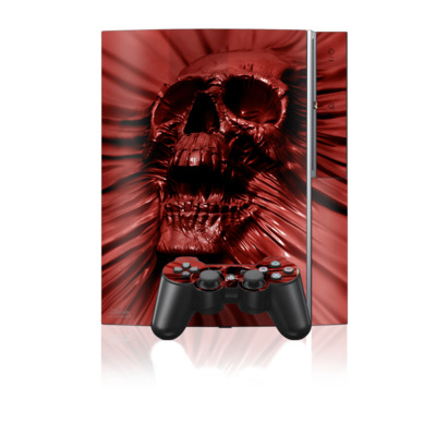 PS3 Skin - Skull Blood