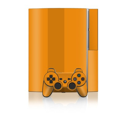 PS3 Skin - Solid State Orange