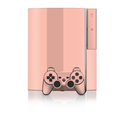 PS3 Skin - Solid State Peach